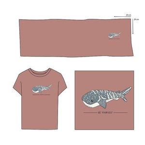 Elvelyckan  - Paneel Whale Shark Blush Pink €28,90 p/m