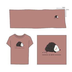 Elvelyckan  - Paneel Hedgehog Blush Pink €28,90 p/m