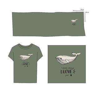 Elvelyckan  - Paneel Whale Love You Green €28,90 p/m