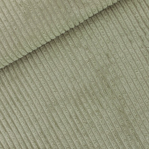 COUPON 50cm See you at six - Thee Groen BREDE RIB CORDUROY €22 p/m