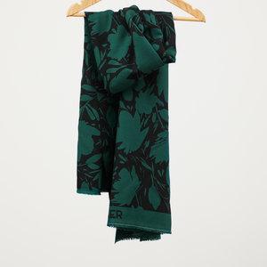mindtheMAKER - Floral Shade Bottle Green Leia Crepe 100%LENZING™ECOVERO™ Viscose €22,50 p/m