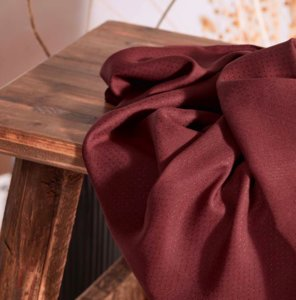 Atelier Brunette - Rust viscose dobby (ECOVERO) €19,90 p/m