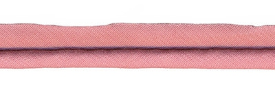 Oud rose - paspelband 4mm