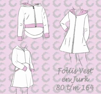 Sofilantjes Folis (vest, tuniek, jurk)