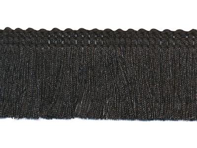 Zwart Franjeband 30mm