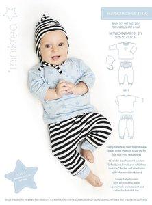 Minikrea Baby set met mutsje 0-2 jaar 11410