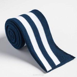 Gevouwen boordstof Blauw/wit 4,75 p/s