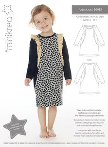 Minikrea Ruffle dress 0-10 jaar 50025