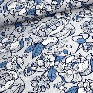Tidoeblomma - Poiner blue (GOTS summersweat) €21,90 p/m