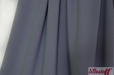 Lillestoff - solid donkergrijs (summersweat) €17,80 p/m GOTS