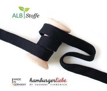 Alb Stoffe - Cord me - zwart hoodie koord €2 p/m