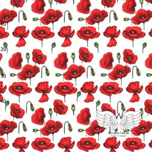 WCollection - Poppies (biojersey) €23,50 p/m