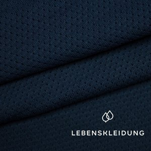 Lebenskleidung - Mesh Navy €23 p/m GOTS