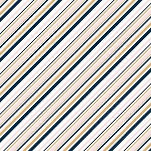 Birch Organic Fabrics - Mod Nouveau pink/metallic €19 p/m