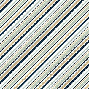 COUPON 65cm Birch Organic Fabrics - Mod Nouveau mint/metallic €20 p/m JERSEY
