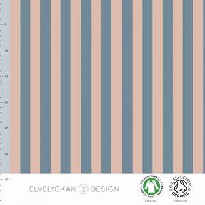 Elvelyckan  - Blue Pink stripes €24 p/m jersey (GOTS)