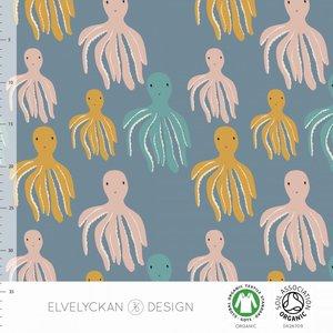 Elvelyckan  - Octopus €23 p/m jersey (GOTS)