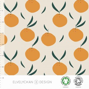 Restock 13 jan Elvelyckan  - Orange €24 p/m jersey (GOTS)