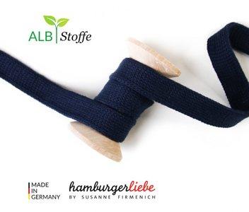 Alb Stoffe - Cord me - Donkerblauw hoodie koord €2 p/m