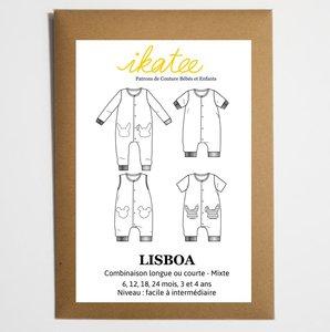 Ikatee - Lisboa jumpsuit baby 6m/4jaar
