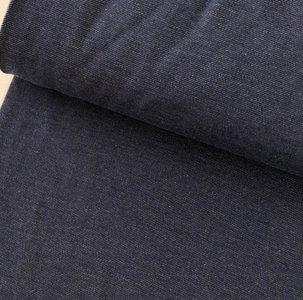 Polytex Organics - Dark blue jeans solid (GOTS) €16