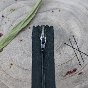 Blinde rits forest green 40 cm - Atelier Brunette