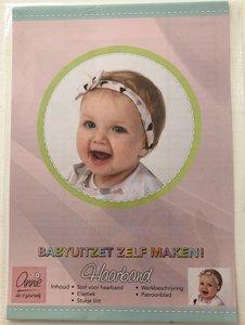 Annie - Naaipatroon haarbandje €1,50 p/s