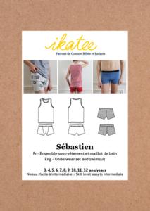 Ikatee - Sebastien underwear and swimsuit -  3/12j