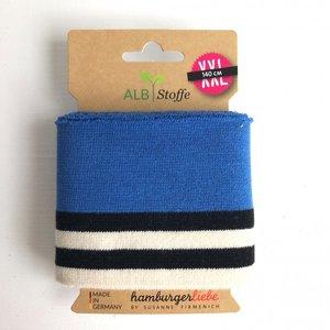 Cuff me Bold - Blue striped 140cm  €9,95 p/s