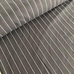 Laatste meter! Polytex Organics - Grey striped (GOTS) €16,50