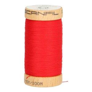 Scanfil Organic Garen- 4805 rood - 100m