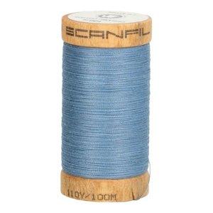 Scanfil Organic Garen- 4816 Grijs Blauw - 100m