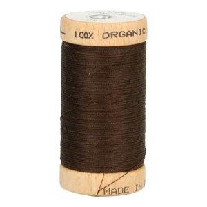 Scanfil Organic Garen- 4830 Donkerbruin - 100m