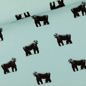 See you at six - Gorillas grijs mistblauw €22p/m