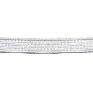 Wit elastiek 10mm