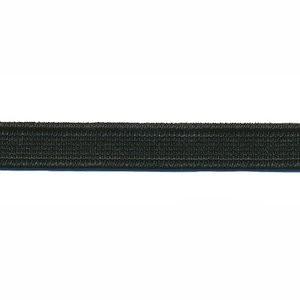 Zwart elastiek 10mm