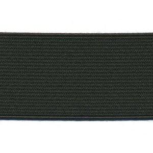 Zwart elastiek 40 mm