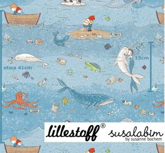 Lillestoff - Save the Ocean €20 p/m GOTS